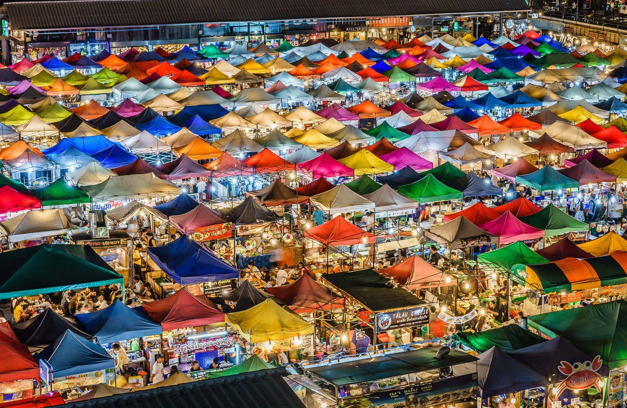 Srinagarindra Train Night Market