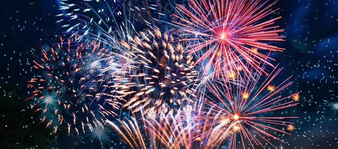 Helipad Happy new year 2020